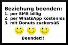 Donut Schluss-machen-Box