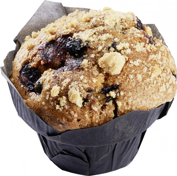Muffin Blueberry XXL mit Streusel