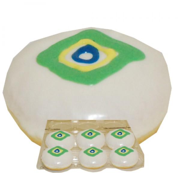 Donut Brasilien Fan-Package