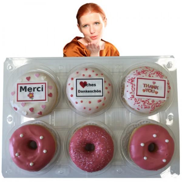 Donut Dankeschön-Box