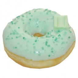 Donut Bubble Green