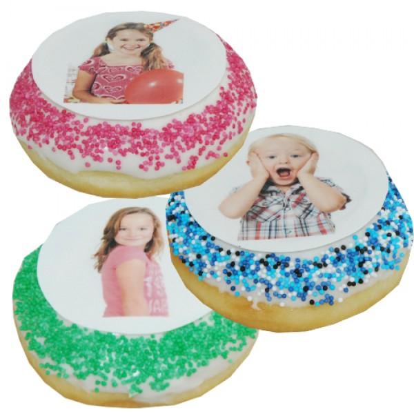 Donut mit Foto