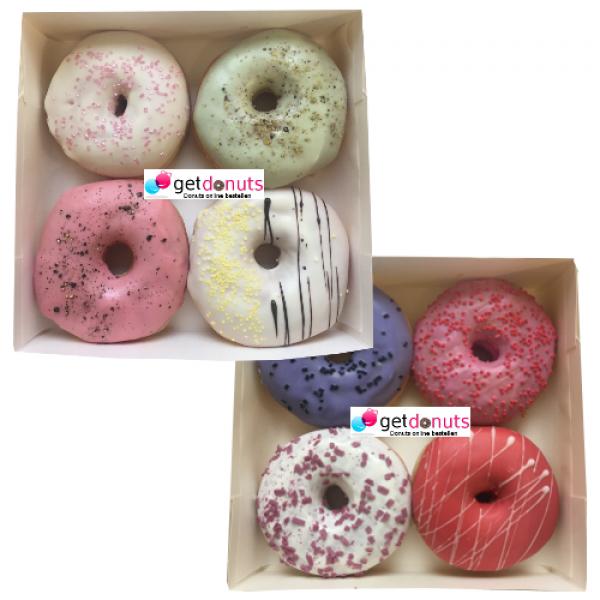 Donut Früchte-Box