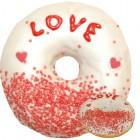 Donut mit Botschaft