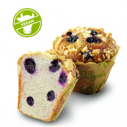 Muffin Blueberry Vegan