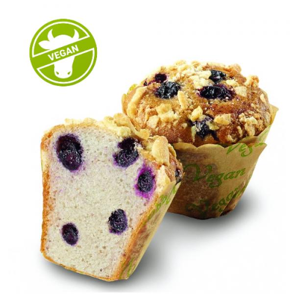 Muffin Blueberry Vegan