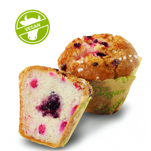 Muffin Johannisbeere Vegan