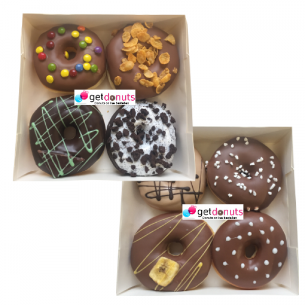 Donut Schoko-Box