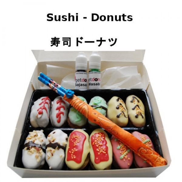 sushi donut box. Black Bedroom Furniture Sets. Home Design Ideas