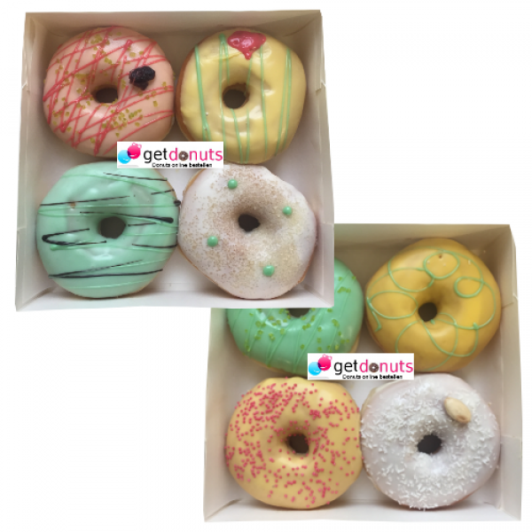 Donut Tropical-Box
